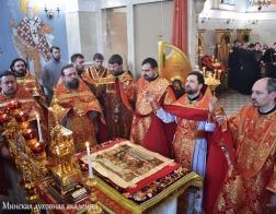 Приход храма святителя Кирилла Туровского при Минской духовной академии отметил престольный праздник