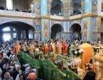 15-летие обретения мощей и прославления преподобного Амфилохия отпраздновали в Почаеве