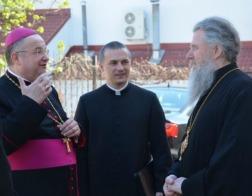 Архиепископ Витебский и Оршанский Димитрий встретился с Апостольским нунцием в Республике Беларусь архиепископом Габором Пинтером