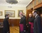 Митрополит Волоколамский Иларион встретился с католическим епископом Цельским Станиславом Липовшеком