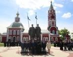 В день памяти святых Бориса и Глеба в Борисоглебске торжественно открыли памятник благоверным князьям