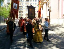 Архиепископ Витебский и Оршанский Димитрий возглавил престольное торжество храма великомученицы Ирины в Москве