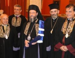 Архиепископ Охридский Иоанн (Вранишковский) стал почетным доктором Богословского факультета Афинского университета