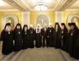 Состоялась встреча Президента России В.В. Путина со Святейшим Патриархом Кириллом и иерархами Русской Зарубежной Церкви