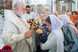 В праздник Вознесения Господня митрополит Павел совершил Литургию в Свято-Духовом кафедральном соборе города Минска