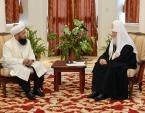 Предстоятель Русской Церкви встретился с Верховным муфтием Киргизской Республики