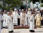 Более 70 архиереев Украинской Православной Церкви приняли участие в торжествах в Киеве, посвященных 25-летию Харьковского Собора
