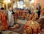 Предстоятель Русской Церкви совершил Литургию в Покровском монастыре г. Москвы