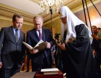 Президент и Председатель Правительства России поздравили Предстоятеля Русской Церкви с днем тезоименитства