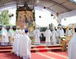 Патриарший Экзарх возглавил торжества по случаю 180-летия со дня рождения и 100-летия со дня преставления праведного Иоанна Кормянского