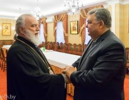 Митрополит Павел встретился с Послом Азербайджана в Беларуси