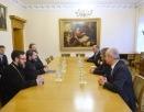 Председатель Отдела внешних церковных связей встретился с министром туризма и исторических памятников Государства Палестина