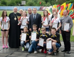 Епископ Гомельский и Жлобинский Стефан принял участие в награждении лучших представителей молодежи Гомельского района