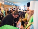 Блаженнейший митрополит Онуфрий возглавил чин наречения архимандрита Виктора (Коцабы) во епископа Барышевского, викария Киевской митрополии