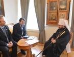Председатель ОВЦС встретился с руководством ливанской общественной организации «Ливано-Российский дом»
