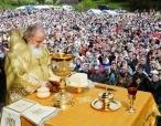 Предстоятель Русской Православной Церкви возглавил Великорецкий крестный ход