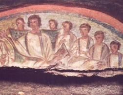 Христианские фрески возрастом 1600 лет найдены в древних римских катакомбах