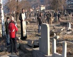 В Косовской Митровице албанцы осквернили сербское православное кладбище