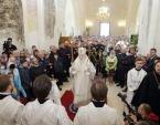 Патриарший наместник Московской епархии освятил Свято-Духовский храм села Шкинь Московской области