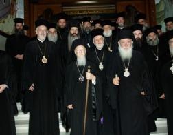В Афинах состоялась встреча Патриарха Константинопольского Варфоломея и Архиепископа Афинского и всея Греции Иеронима