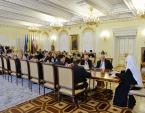 Святейший Патриарх Кирилл встретился с главами дипломатических миссий латиноамериканских стран в Российской Федерации