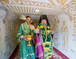 Освящена первая в Вооруженных силах Республики Беларусь передвижная часовня