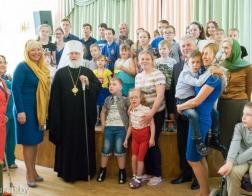 Митрополит Павел посетил Республиканский реабилитационный центр для детей-инвалидов