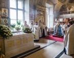 В 27-ю годовщину интронизации Святейшего Патриарха Алексия II состоялась панихида в Богоявленском кафедральном соборе г. Москвы
