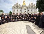 Блаженнейший митрополит Онуфрий возглавил выпускной акт в Киевских духовных школах