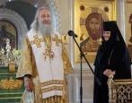 В Неделю Всех святых председатель Синодального отдела по монастырям и монашеству совершил Литургию в Алексеевском ставропигиальном монастыре
