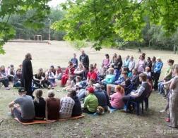 Более 100 человек приняли участие в слете молодежи Гомельской епархии