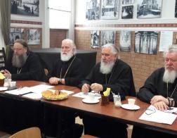 Патриарший Экзарх всея Беларуси возглавил заседание комиссии Межсоборного присутствия по церковному просвещению и диаконии