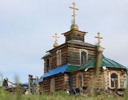 79-летний житель Бурятии на личные средства построил православный храм
