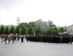 В 76-ю годовщину начала Великой Отечественной войны митрополит Крутицкий Ювеналий возложил венок к могиле Неизвестного солдата