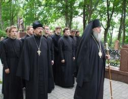Лития по павшим защитникам Отечества была совершена в Витебске