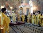 В день 80-летия со дня рождения приснопамятного митрополита Хрисанфа (Чепиля) торжественные богослужения состоялись в Успенском кафедральном соборе Вятской епархии
