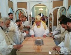 Архиепископ Артемий совершил освящение храма в агрогородке Обухово Гродненского района