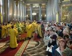 Митрополит Санкт-Петербургский и Ладожский Варсонофий возглавил празднование памяти святых, в земле Санкт-Петербургской просиявших