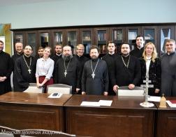 В Минской духовной академии состоялась защита магистерских диссертаций
