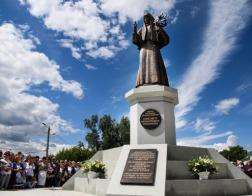 В Алапаевске открыт памятник великой княгине Елизавете Федоровне