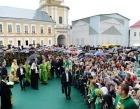 Предстоятель Русской Церкви возглавил торжества по случаю 350-летия обретения мощей преподобного Нила Столобенского