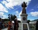 В Алапаевске освящен памятник преподобномученице великой княгине Елисавете Феодоровне