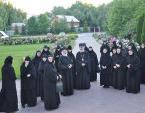 В Зачатьевском ставропигиальном монастыре пребывала группа монашествующих из крупнейшего в Греции женского монастыря