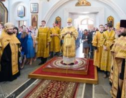 В канун Недели 4-й по Пятидесятнице митрополит Павел совершил всенощное бдение в Свято-Духовом кафедральном соборе города Минска