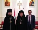 Состоялась встреча представителя Русской Православной Церкви с новоизбранным главой Греко-Мелькитской Церкви