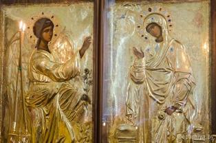 Со Святой Горы Афон в гомельский Преображенский храм принесена икона Благовещения Пресвятой Богородицы