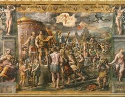 В ходе реставрационных работ в папском дворце в Ватикане обнаружены две неизвестные фрески Рафаэля