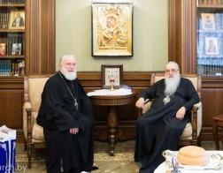 Митрополит Филарет поздравил митрополита Павла с днем тезоименитстсва