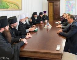 Состоялась встреча председателя Минского областного исполнительного комитета с архиереями Минской митрополии