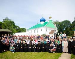 Состоялось открытие летнего слета молодежи Белорусской Православной Церкви